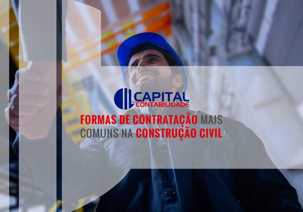 Formas De Contratação Mais Comuns Na Construção Civil