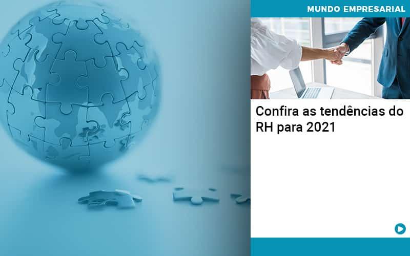 Confira As Tendências Do RH Para 2021