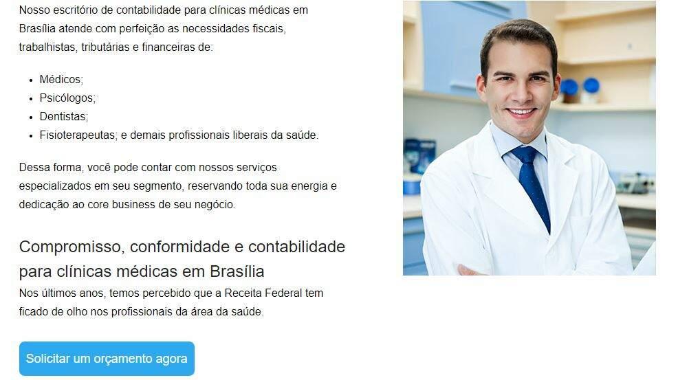 Contabilidade Para Clinica Medica - Contabilidade em Brasilia - DF   Capital Assessoria